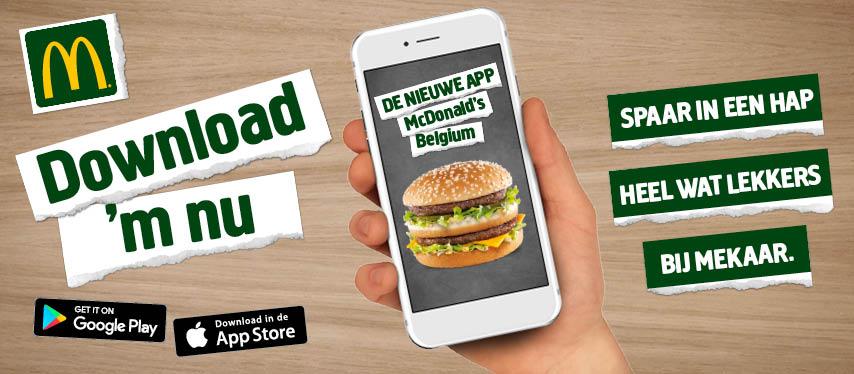 241e9c5591abeb Spaar vanaf nu punten bij elk McDonald s-bezoek! Scan telkens je  kassaticket en ruil je verzamelde punten in voor een gratis frietje