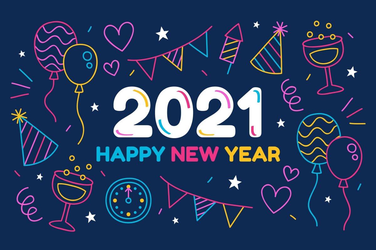 Beste wensen voor 2021! | jegeldterug.be - 100% terugbetaald